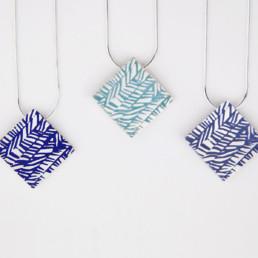'Weave' Square Pendants