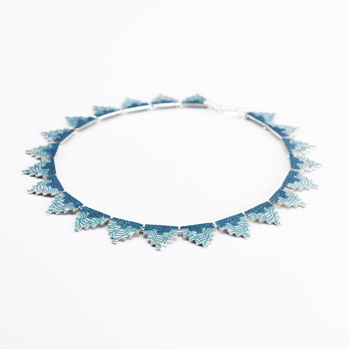 'Weave' Two Tone Necklace