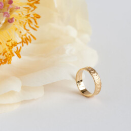 'Finesse' Gold Ring