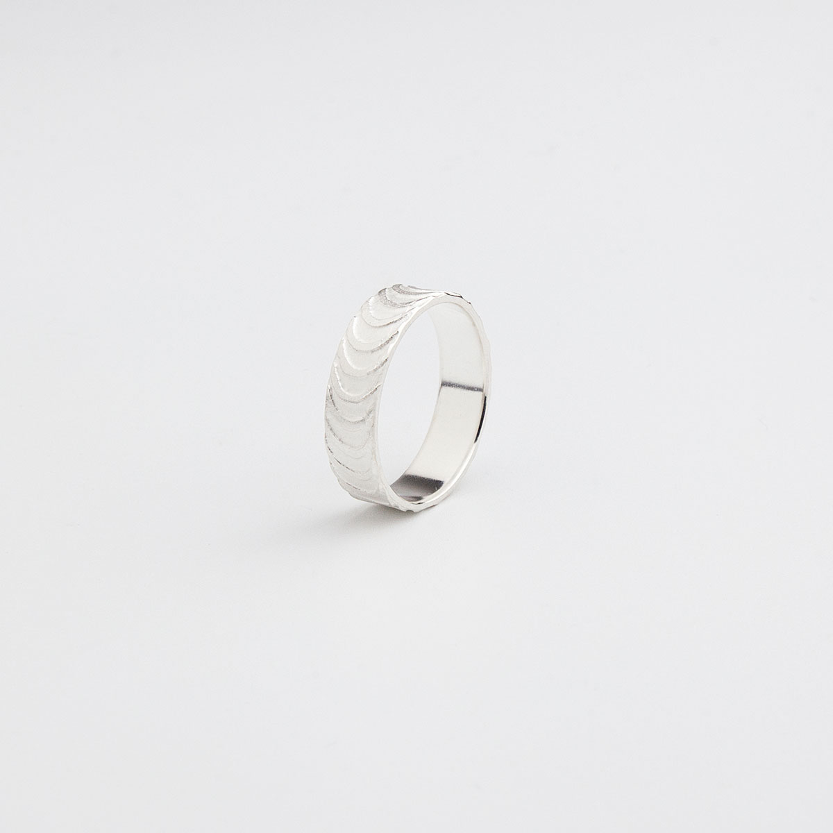 'Finesse' Silver Ring